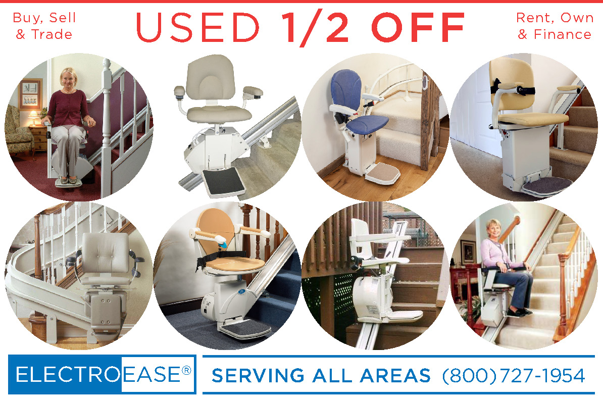 used stairlifts recycled stairway affordable chair discount stairchair inexpensive staircase sale price cost bruno acron harmar stairlifts